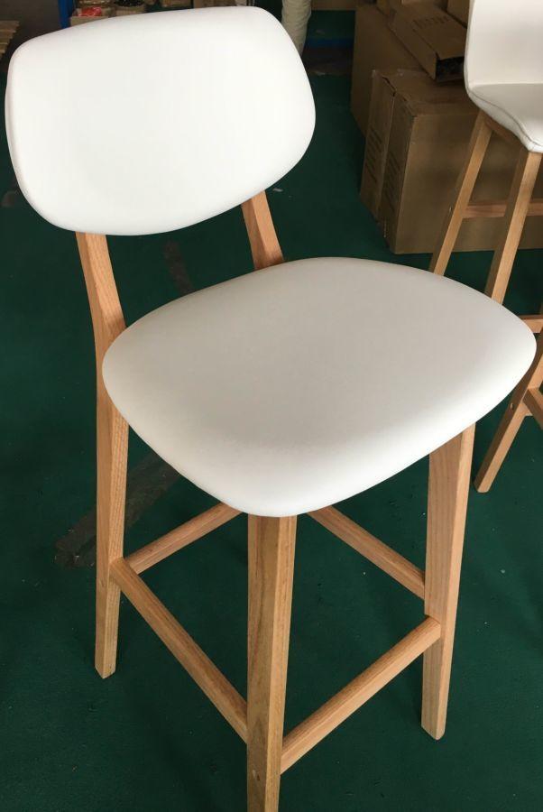 Барный стул Trento кожзам, H-75см.