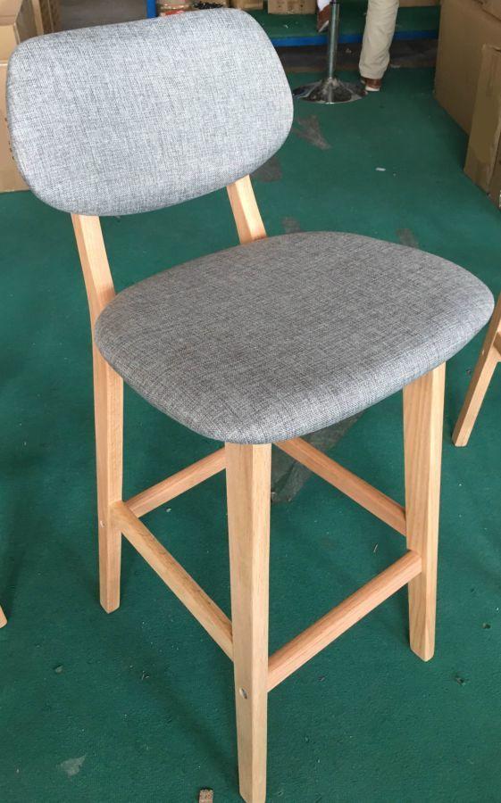 Барный стул Trento ткань, H-75см.