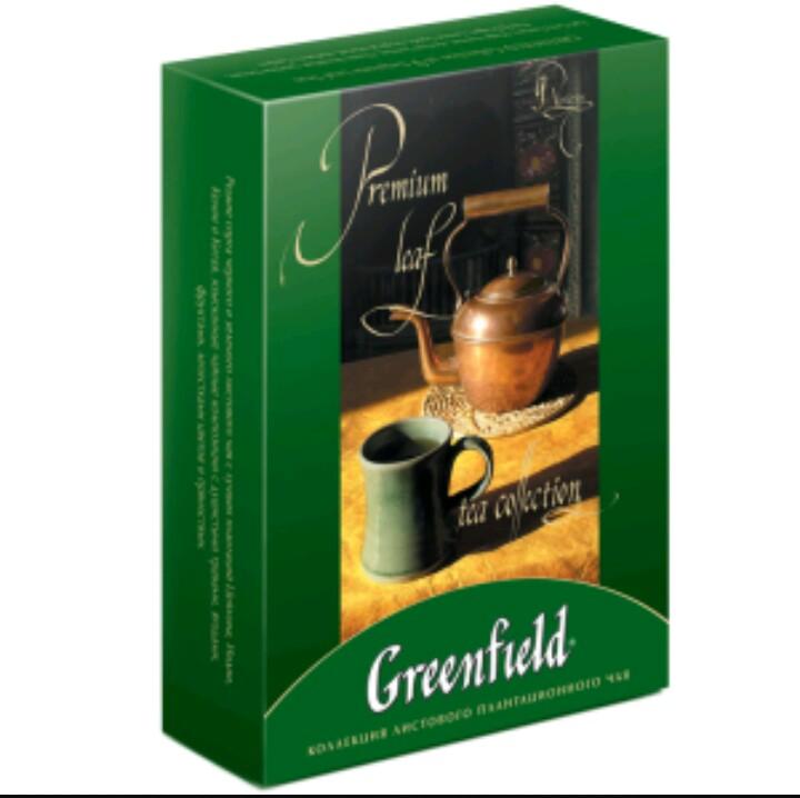 реклама чая гринфилд