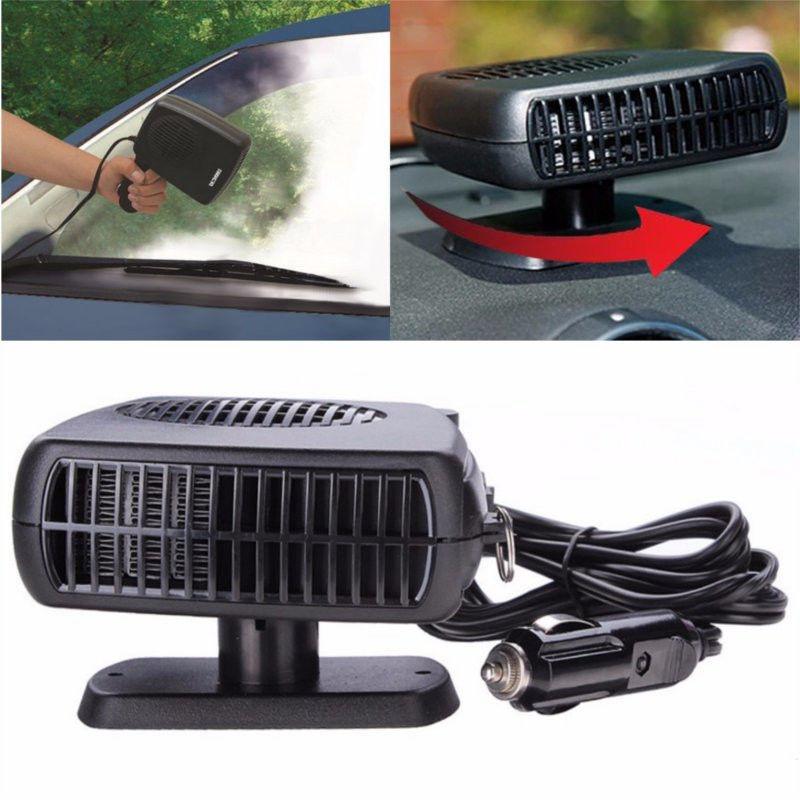 Обогреватель от прикуривателя Auto Heater Fan 12 и 24 вольт.