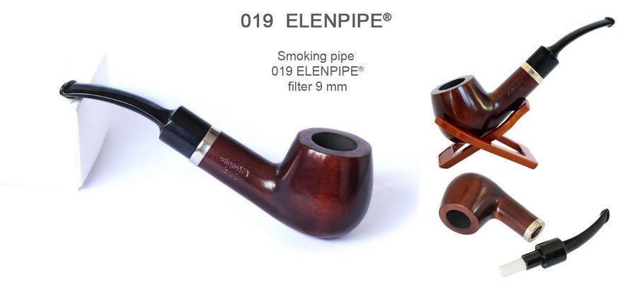 Польские грушевые курительные трубки B & B, Elenpipe с фильтром 9 мм