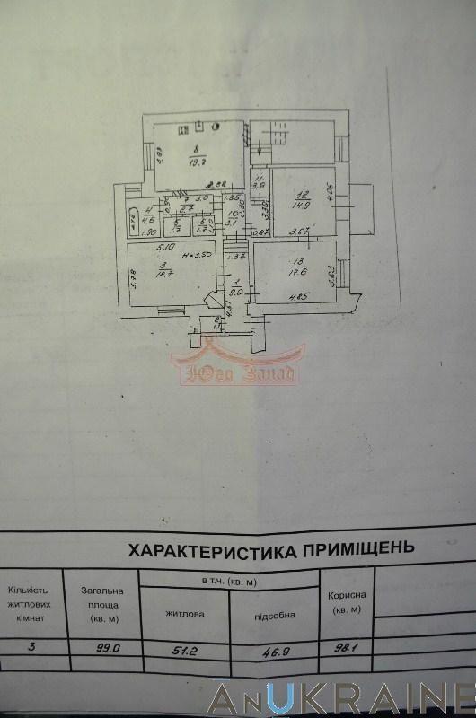 3-квартира на Елисаветинской с ремонтом