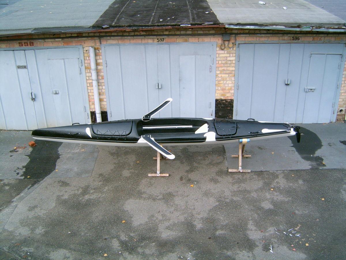"""Лодка для прибрежной гребли """"Касатка"""""""
