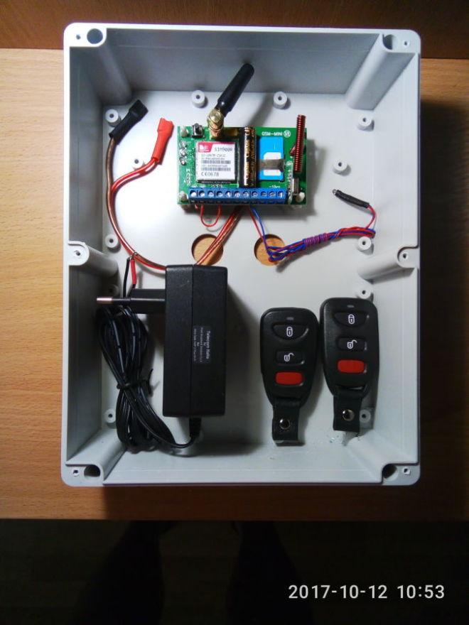 Установка беспроводных и проводных GSM-сигнализаций.