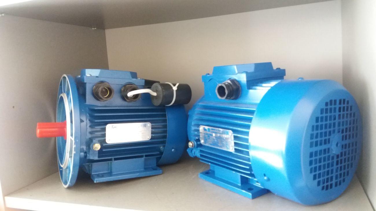 Електродвигун однофазний 2.2 кіловата 3000 обертів 220 вольт