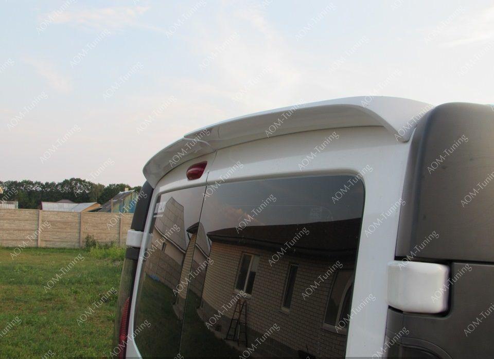 Спойлер на Рено Трафик (спойлер на заднюю дверь Renault Trafic) Польша