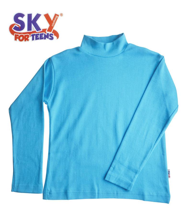 cffe35f6dc3 Купить сейчас - Гольф водолазка детский на 2-4 года голубой