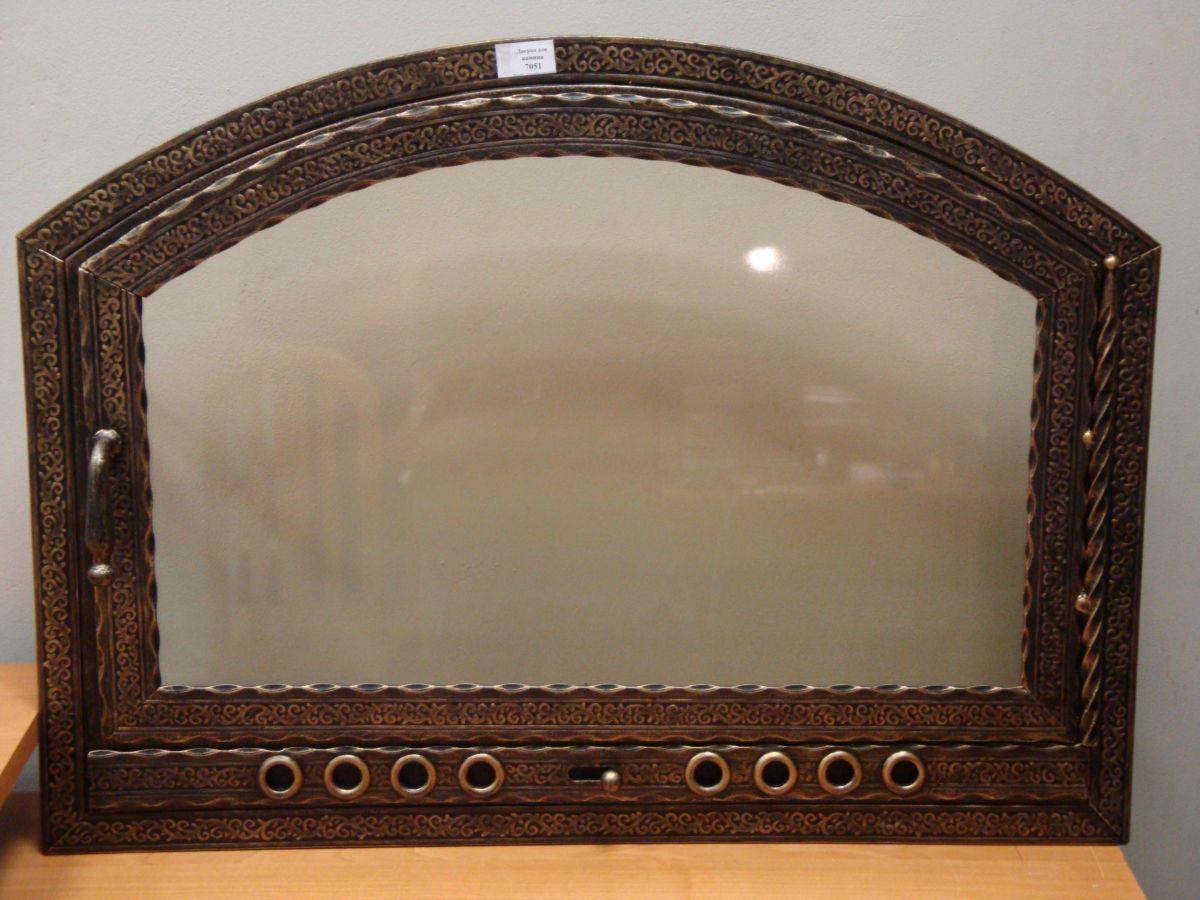 стекло дверца для камина купить