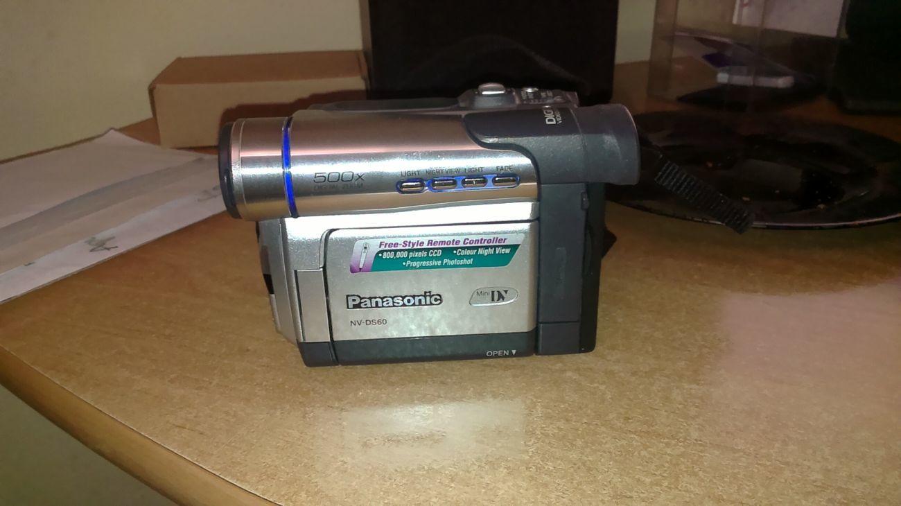 Видеокамера цифровая Panasonic NV-DS60 Mini DV