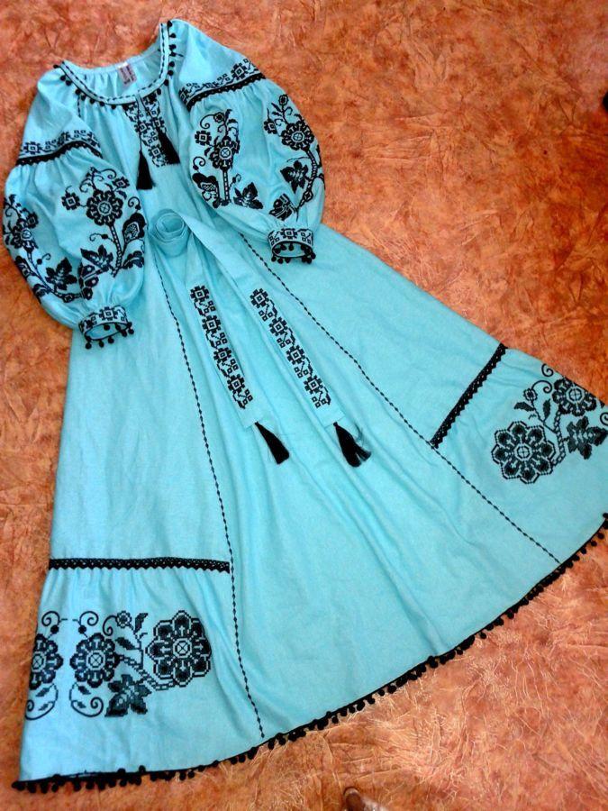 304bb90c8c517f Сукня вишиванка у слилі бохо / платье вышиванка в стиле бохо: 1 600 ...