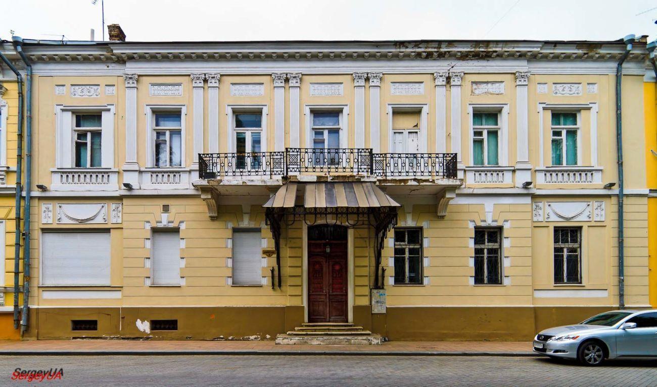 «Особняк Марини».Приморский бульвар, 3, Одесса