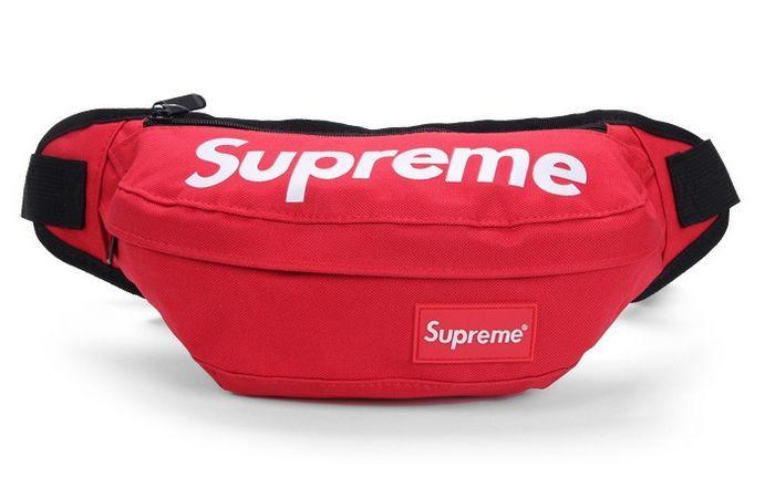 cc243cd22c66 Supreme поясная красная сумка на пояс бананка рюкзак косметичка клатч