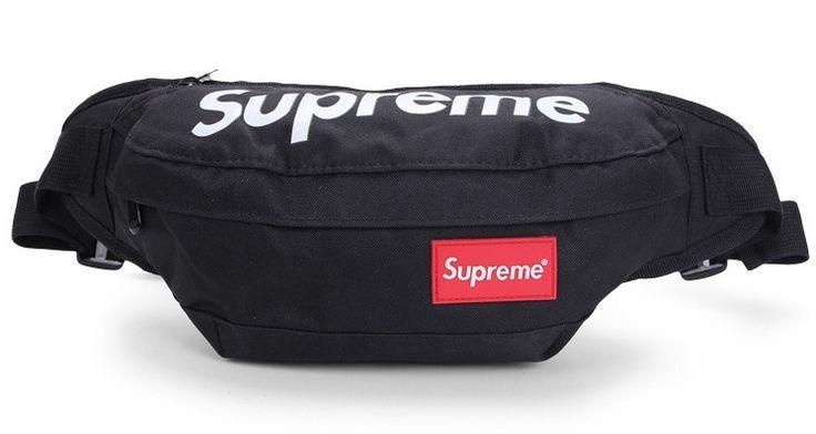 Supreme поясная черная сумка на пояс бананка рюкзак косметичка клатч ... 1801b68e66c