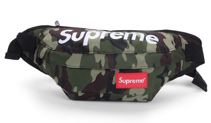 742fff76cd07 Supreme поясная камуфляж сумка на пояс бананка рюкзак косметичка клатч
