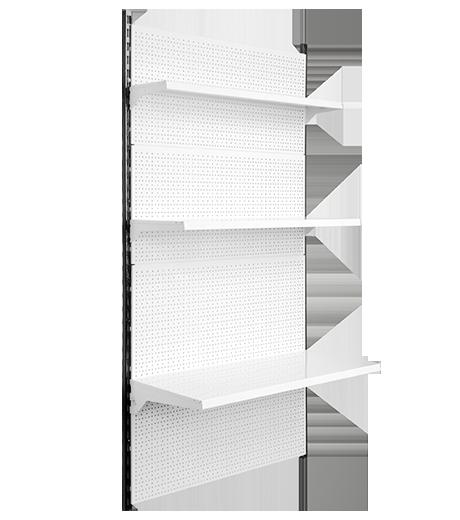 Стелаж настінний приставий , стеллаж настенный приставной 1900*950 мм