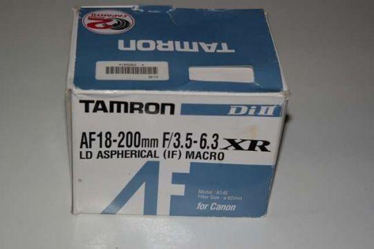 Объектив Tamron AF 18-200mm F/3,5-6,3 Di II XR LD Asp. (IF) Macro для