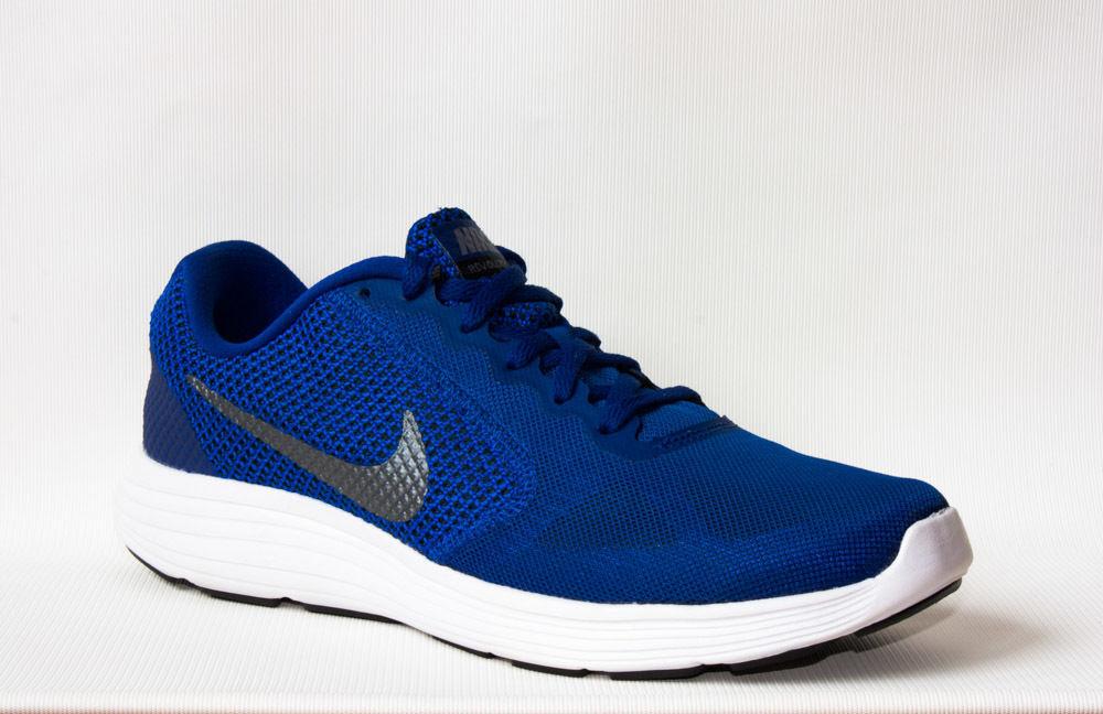 6b16230f0 Кроссовки мужские беговые Nike Revolution 3 синие: 1 399 грн ...