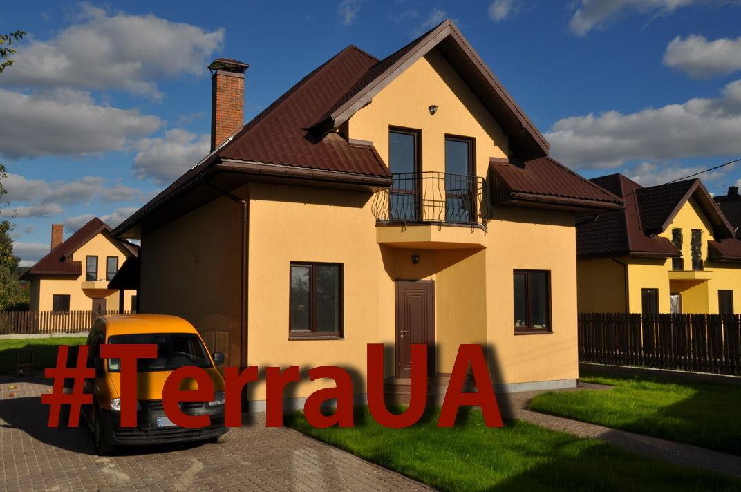 Продам новый жилой дом 137 кв. м. с ремонтом и мебелью в с. Гнидын .