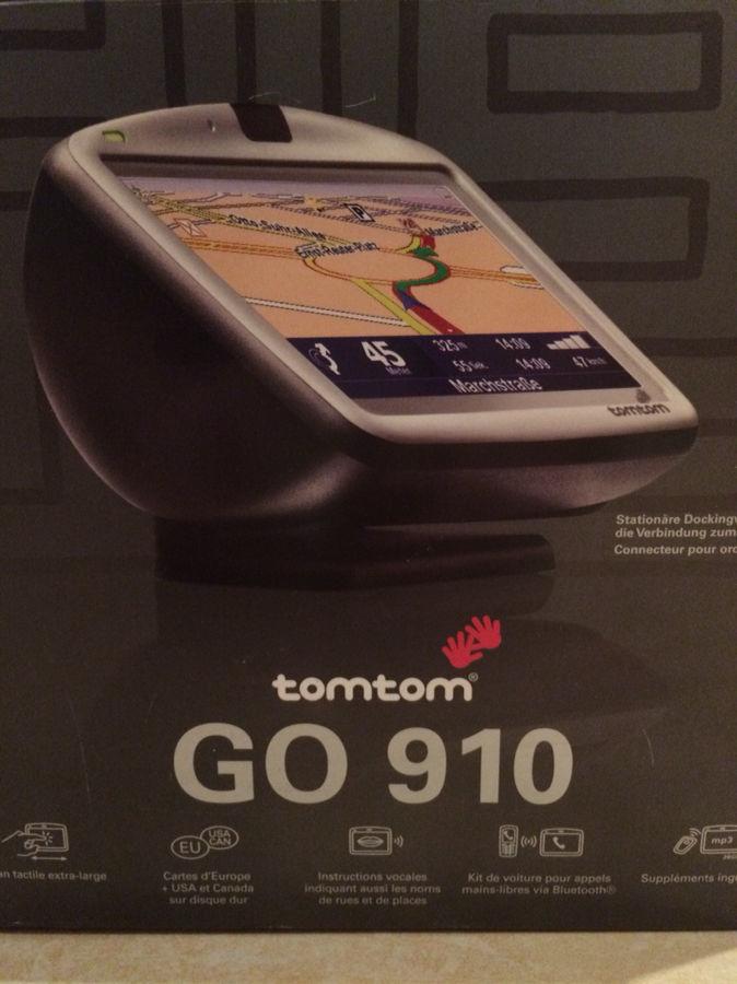 Навигатор TomTom GO 910