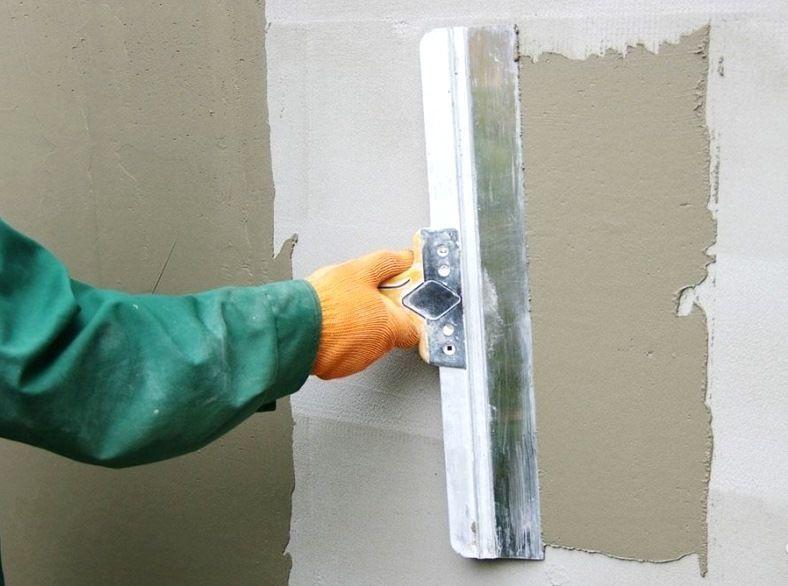 Шпаклевка потолка стен