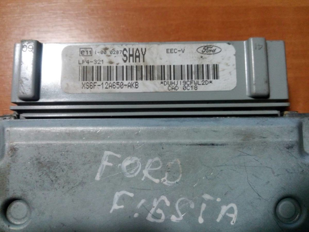 XS6F-12A650-AKB XS6F12A650AKB SHAY LP4-321 EEC-V ЭБУ FORD Fiesta