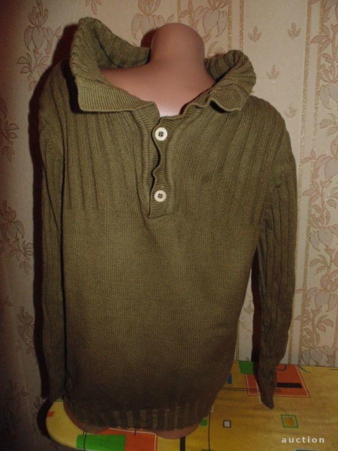 Теплый свитер,стиль милитари 12-15лет.Моя доставка укрпочтой