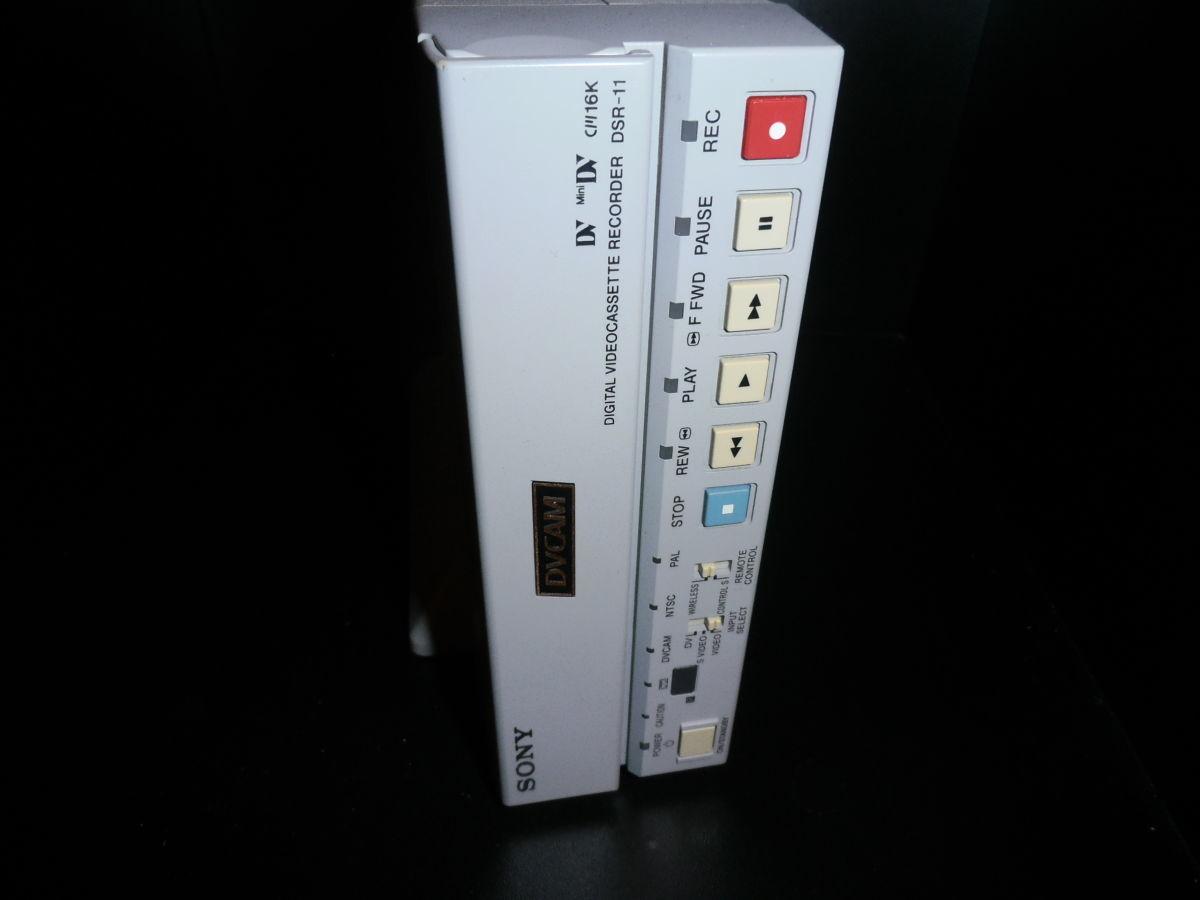 Профессиональный видеомагнитофон DVCAM, DV, Mini DV Sony DSR-11
