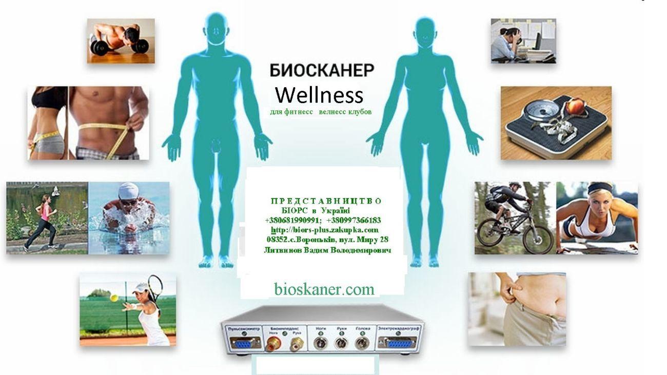АПК Биосканер Wellness для фитнес и велнес клубов