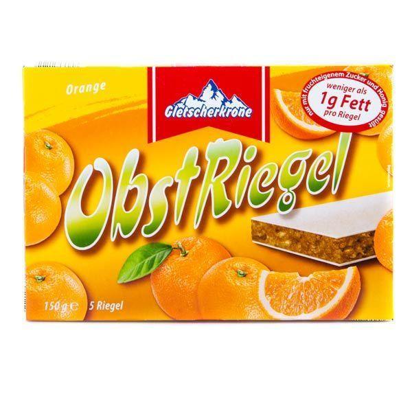 Фруктовые батончики OBST RIEGEL Orange (апельсин) 30г, 1шт