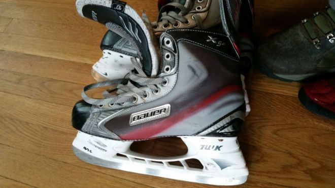 Хоккейные коньки BAUER VAPOR X5.0 размер 10D б/у