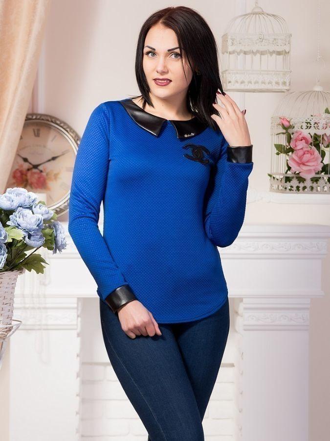 436f53225e0 Женская стильная кофта-блуза р.42