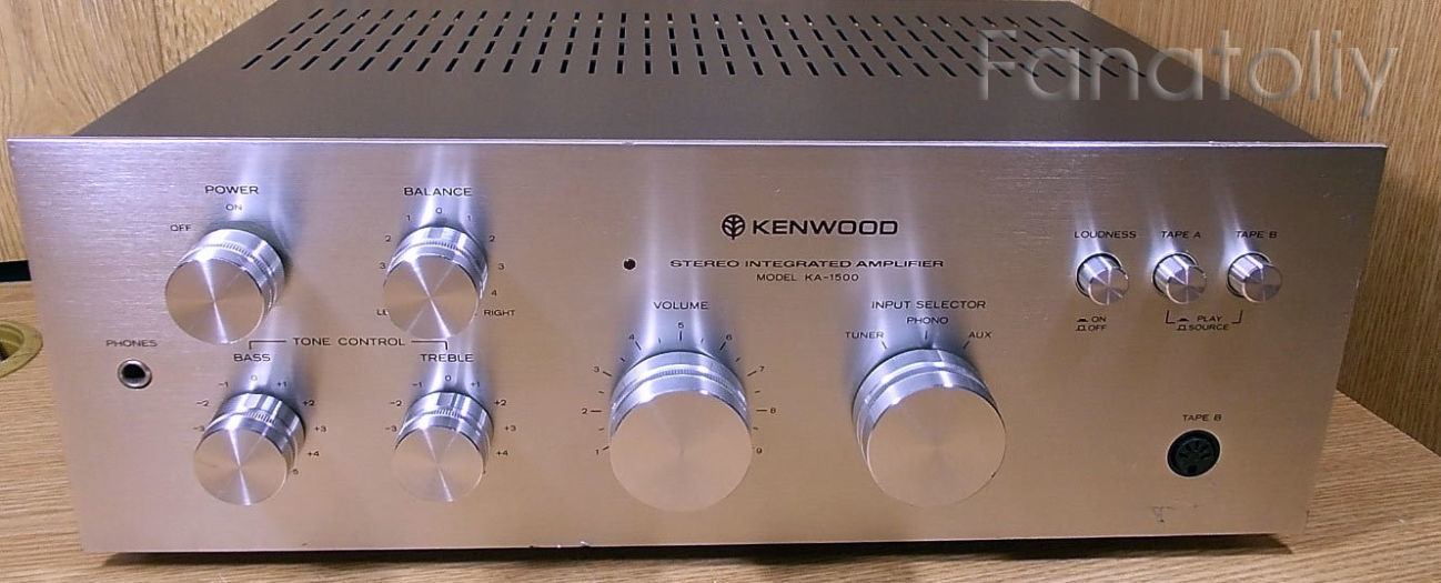 Интегральный усилитель Kenwood KA-1500