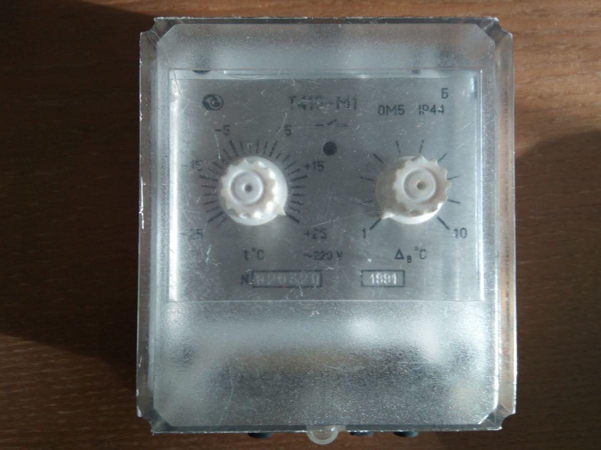 Датчик-реле температуры т419-м1