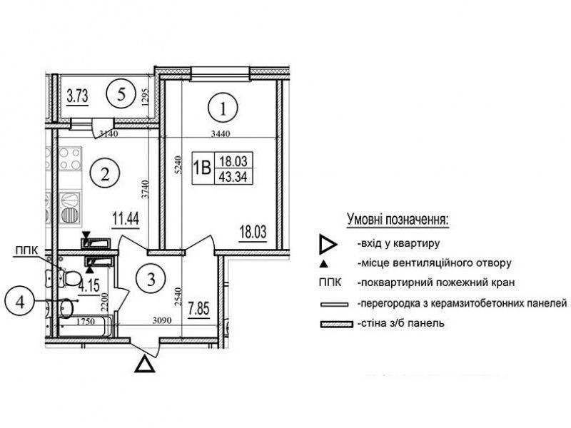 1- комнатные ж/б 6 ЖК Эврика Без комиссионных