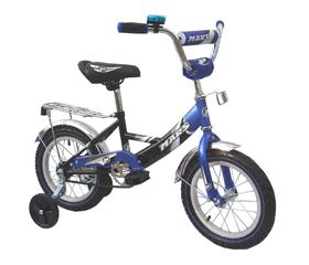 Велосипед Марс 16″ ручне гальмо+ ексцентрик (Синій/чорний)