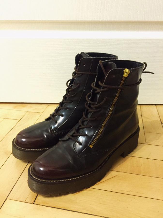Продам женские ботинки на платформе  500 грн. - Ботинки Киев ... 0fb2c14e21528