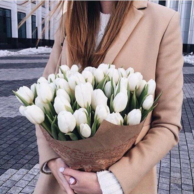 Купить Цветы на 8 марта - Тюльпаны Днепр