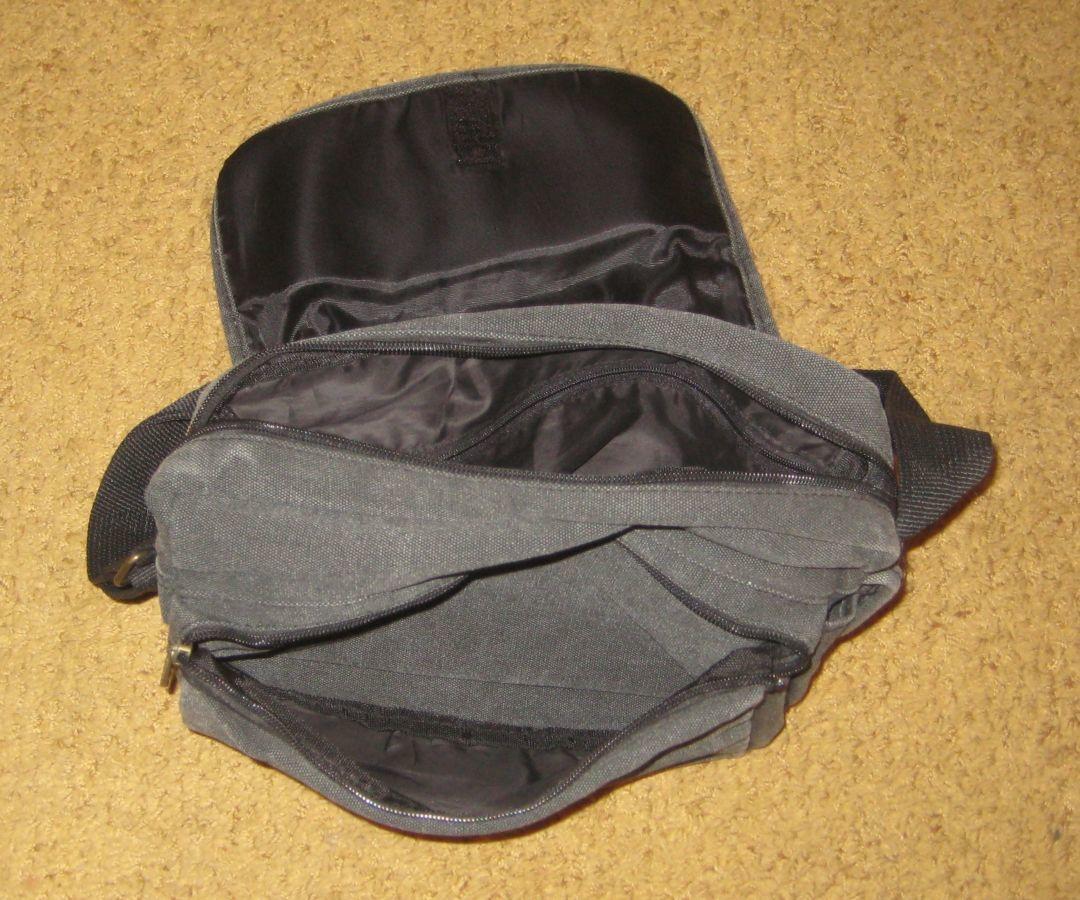 5629b9e40ecc Мужская тканевая сумка через плечо WEST LONG. Цвет темно-серый.: 140 ...