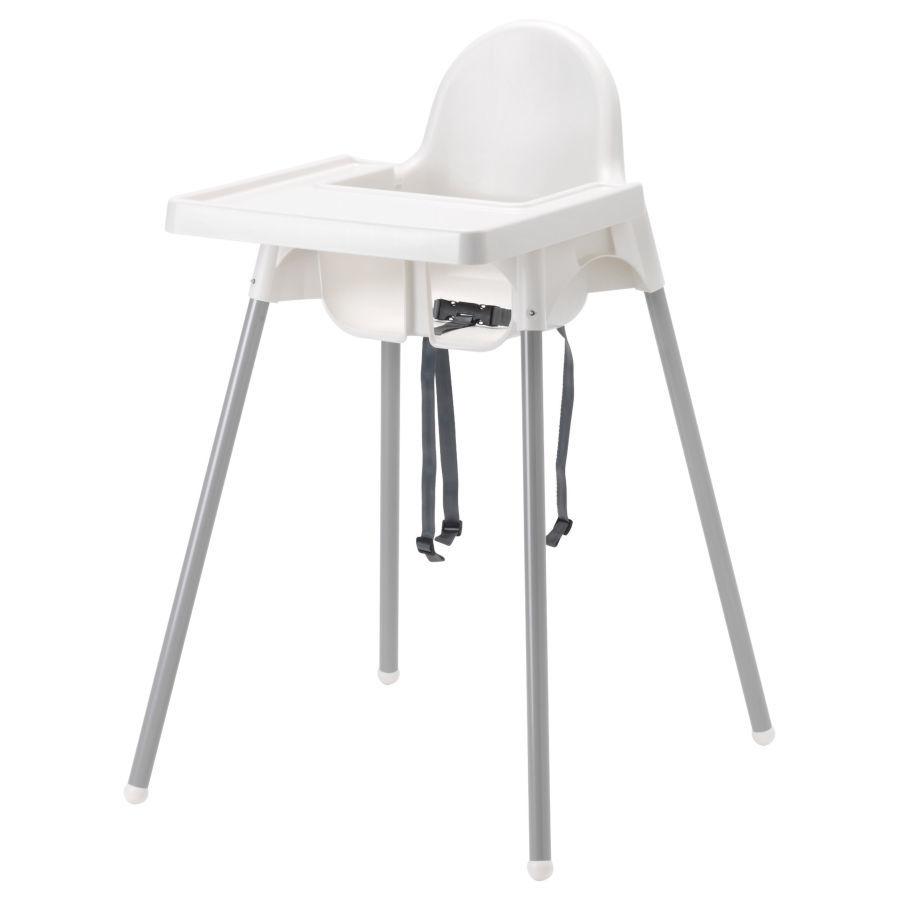 """ИКЕА """"АНТИЛОП"""" Высокий стульчик со съемной столешницей для кормления"""