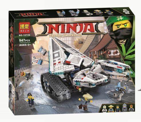 Конструктор Bela Ninjago Movie 10726