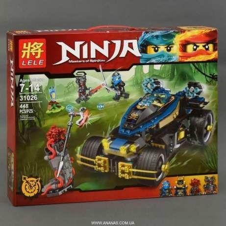 Конструктор Lele 31026 Ninjago - Самурай VXL ( 448 дет.)