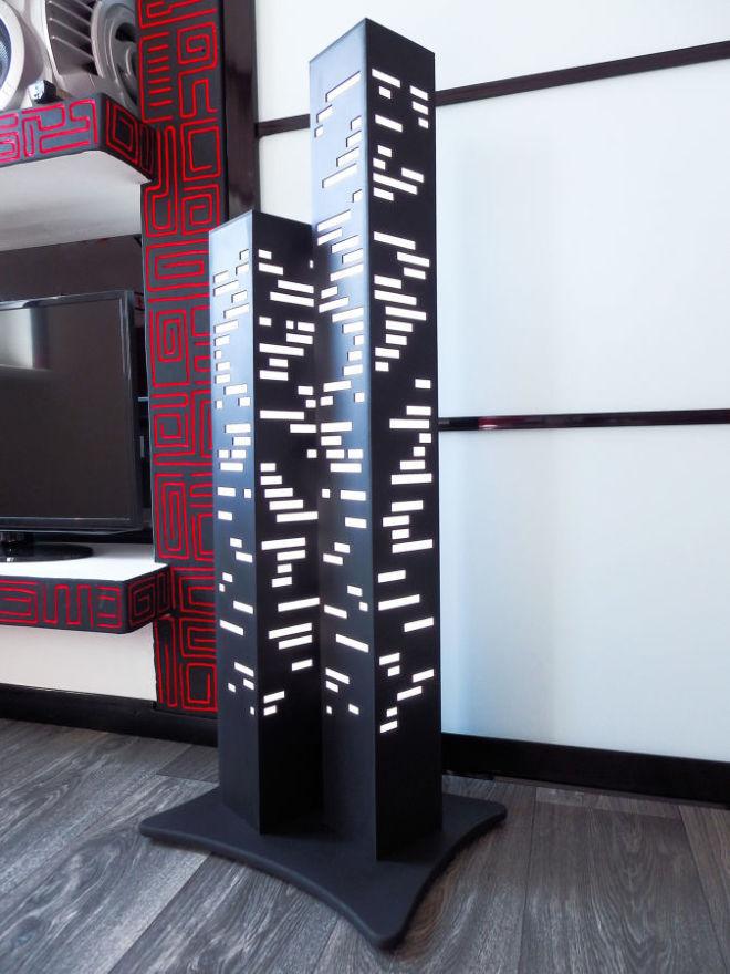 Дизайнерский напольный светильник