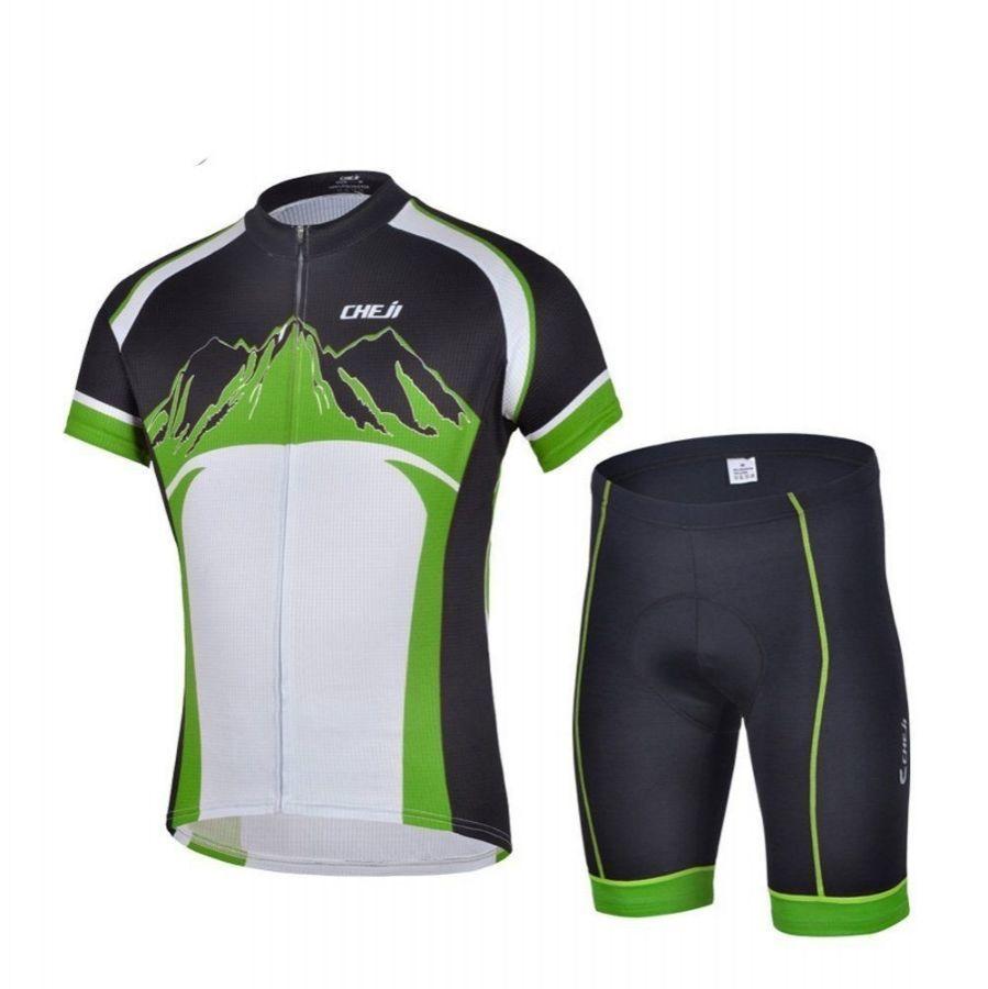 Велоформа мужская Baleaf, джерси и шорты, новый комплект, размер - М