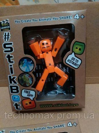 Фигурка Stikbot Стикбот 2101 (создание мультфильма)