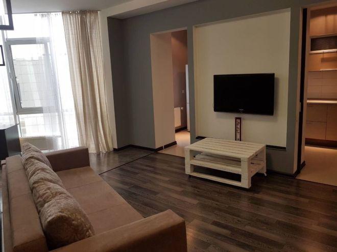 Сдам 2-комнатную квартиру с евроремонтом в жилом комплексе Гранд Парк