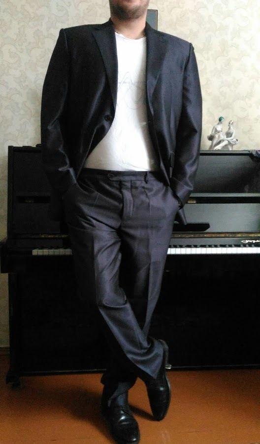 c1fd238bfc5f Шикарный Dolce&Gabbana оригинал, мужской костюм классика, выпускной ...