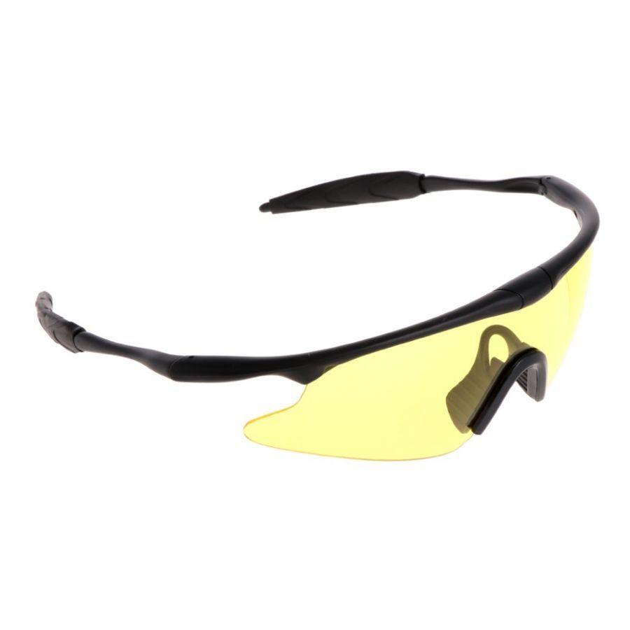 Очки новые, контрастные желтые стекла, максимальная защита и комфорт.