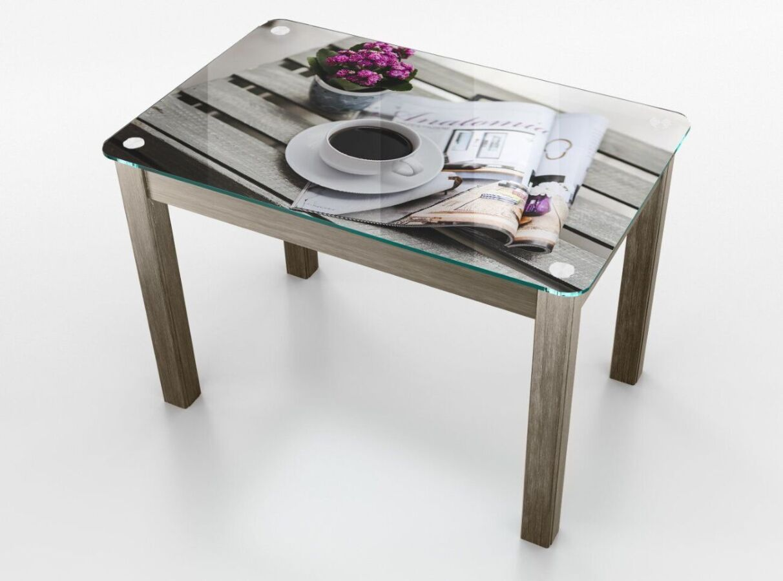 Стеклянный стол Boston