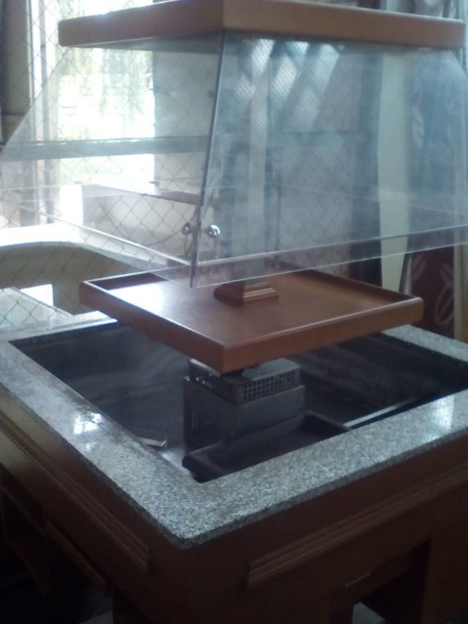Витрина холодильная островная (салат-бар) Igloo WCHC 1,0 x 1,0