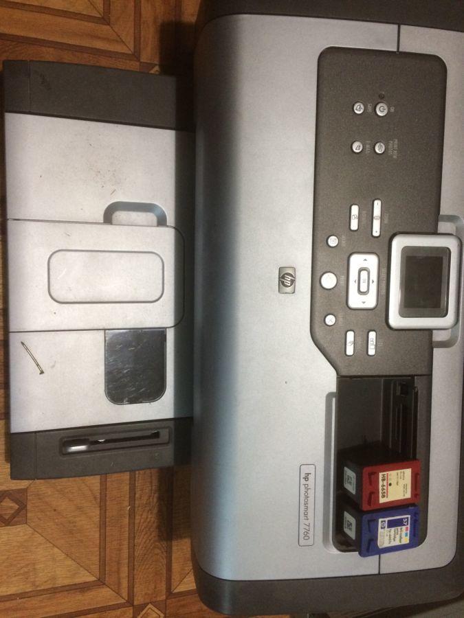 Принтер HP photosmart 7760